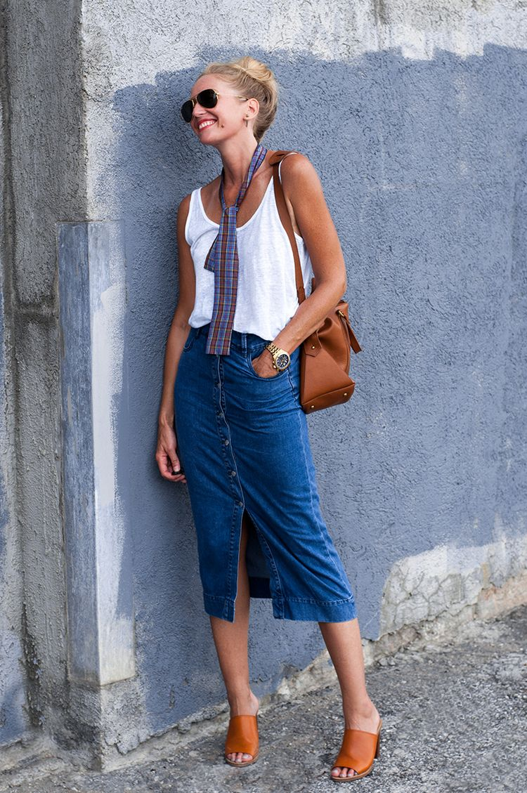 That Seventies Denim Skirt | Denim skirt