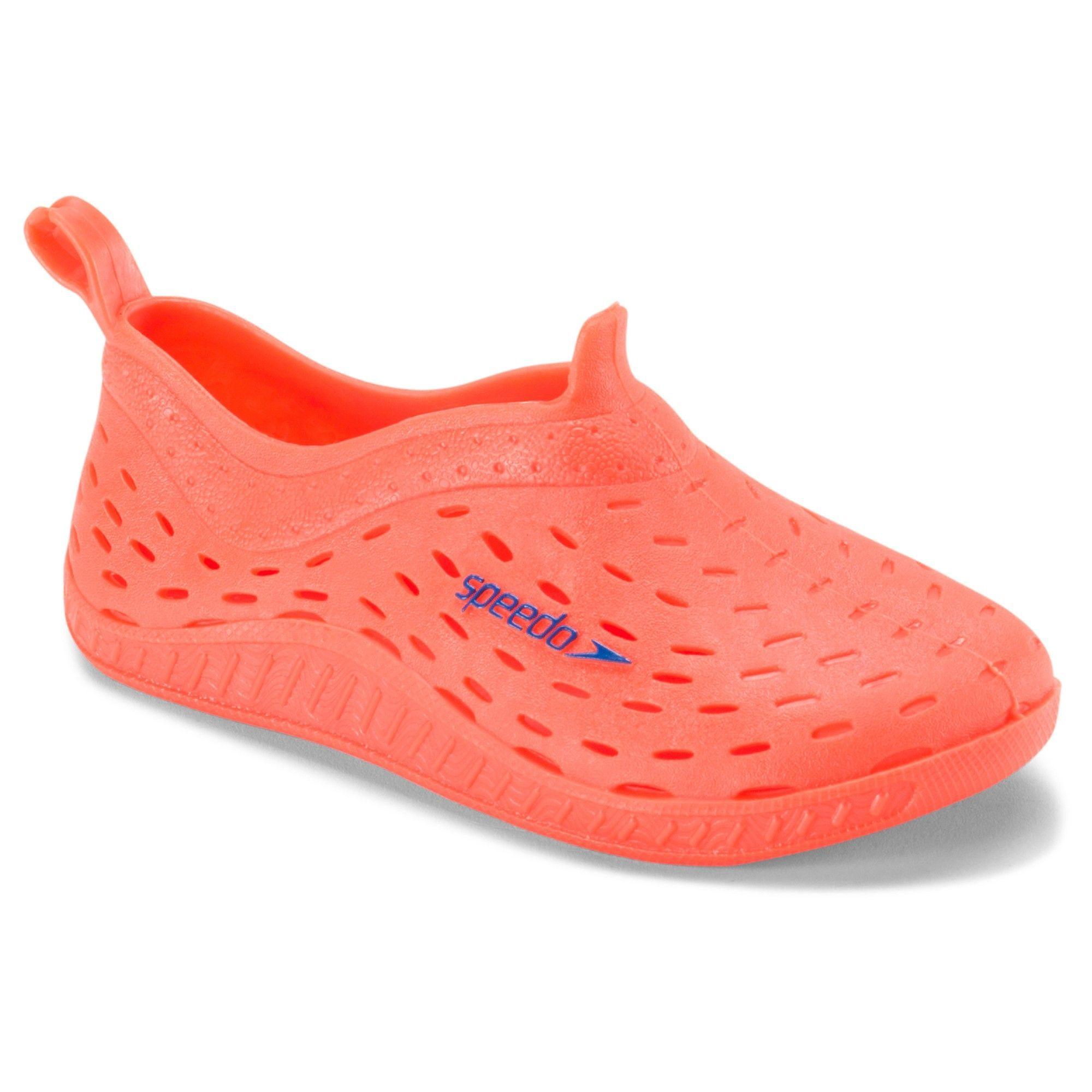 1459896f7212 Speedo Toddler Kids Jellies Water Shoes - Orange (Extra Large)