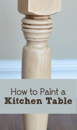Photo of How To Paint a Table Correctly – Painted Furniture Ideas