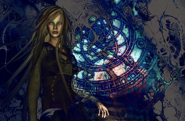 Time is an illusion. Digital Art. | Time art, Art, Fantasy background