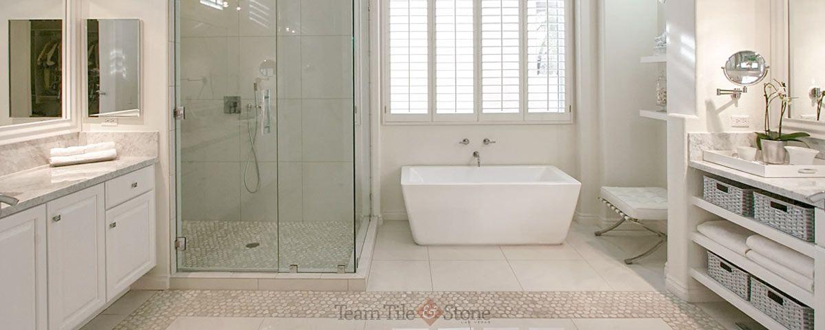 Large Customized Bathroom Renovations In Vegas Master Bath Remodel