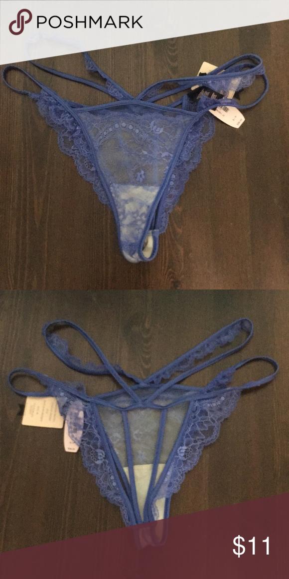 Victoria/'s Secret DESIGNER COLLECTION Low Rise Cheekini Panty XS