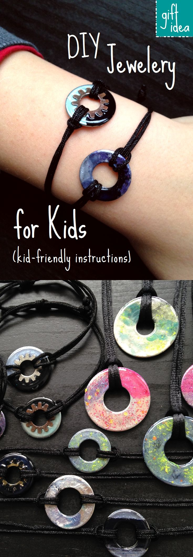 We made beautiful bracelets and necklaces for gifts so fun and