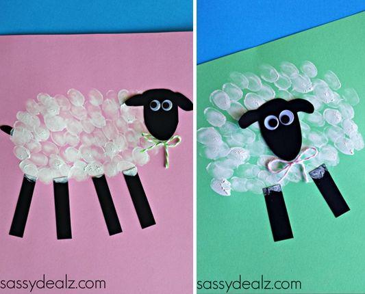 La lana de la oveja manualidades con ni os pinterest - Como hacer una oveja ...