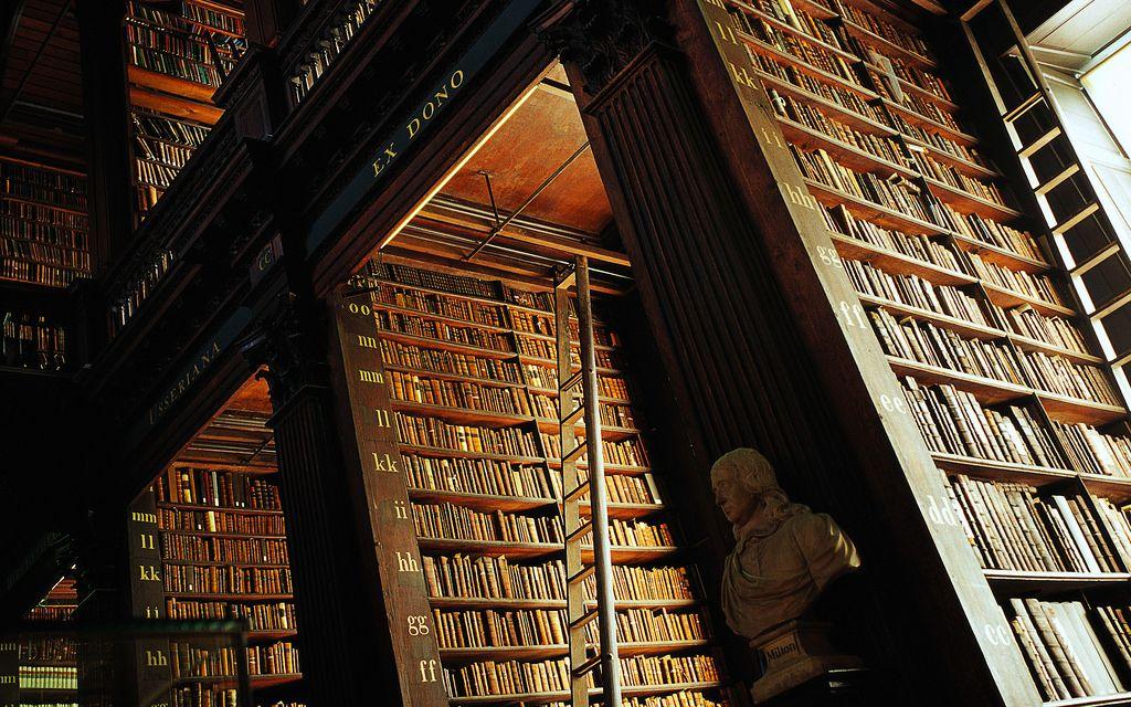 Trinity College Library Dublin Ireland Bookish Trinity
