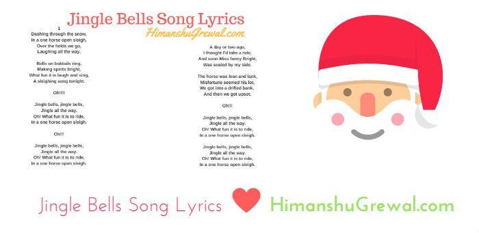 Christmas Day : Jingle Bells Song Lyrics in English (Free Download) | Songs, Song lyrics, Lyrics