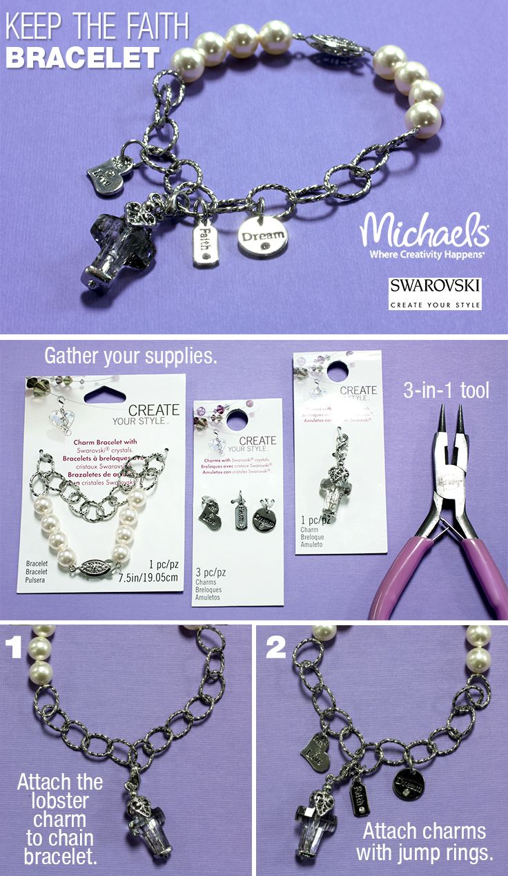 a5745c2393be0 Create your own personalized bracelet using Swarovski Create Your ...