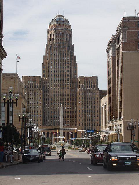 City Hall And Niagara Square Buffalo New York City Hall Cool