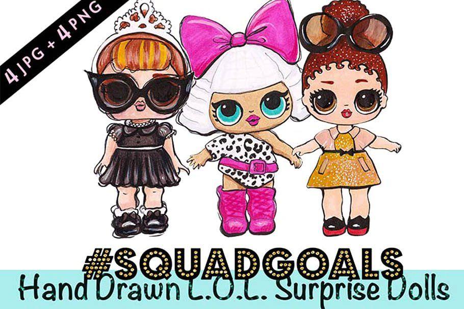 L O L Surprise Dolls Glam Squad Effort Tiny Detail Love
