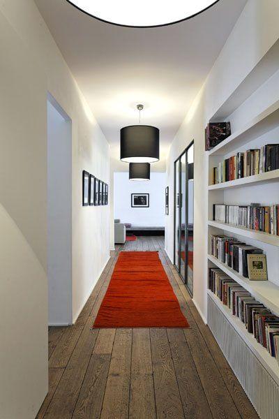 Idee per trasformare il corridoio in libreria for Arredare libreria