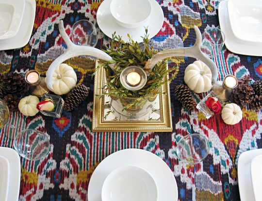 My Thanksgiving table last year