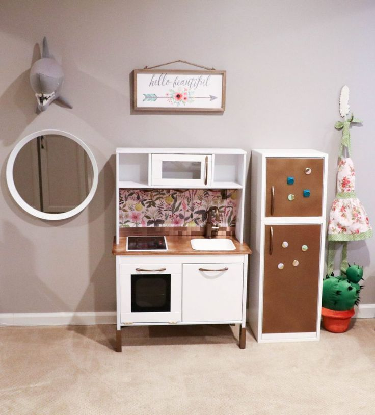 IKEA Hack: Building Your Child\'s Dream DUKTIG Play Kitchen ...