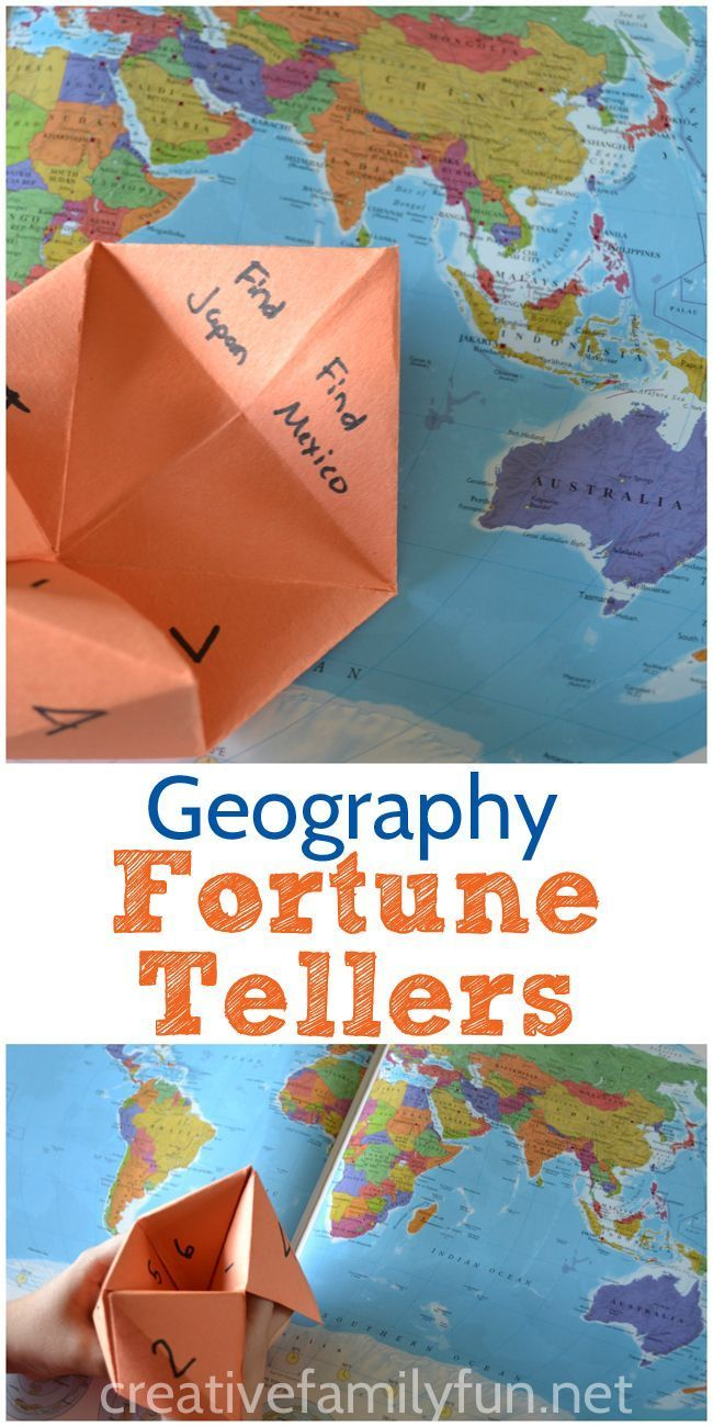 How to learn fortune-telling on maps