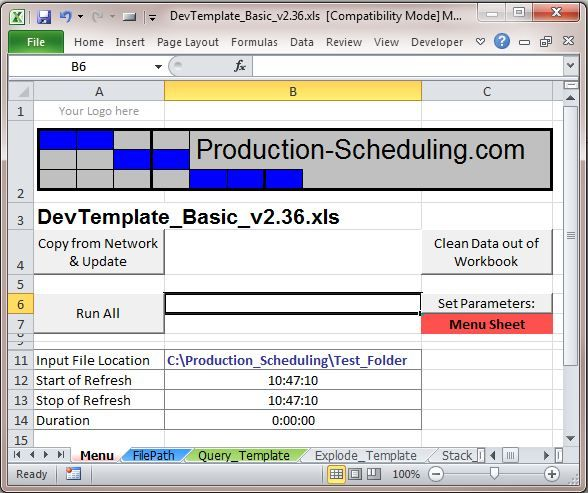 simple mrp excel spreadsheet business templates templates