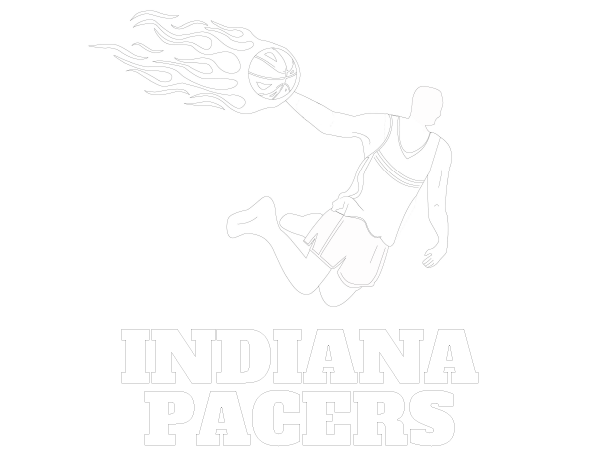 Printable Indiana Pacers Coloring Sheet