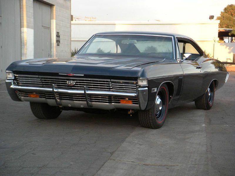 1968 Impala Rare With The Hidden Headlights Looks Sinister Luxury