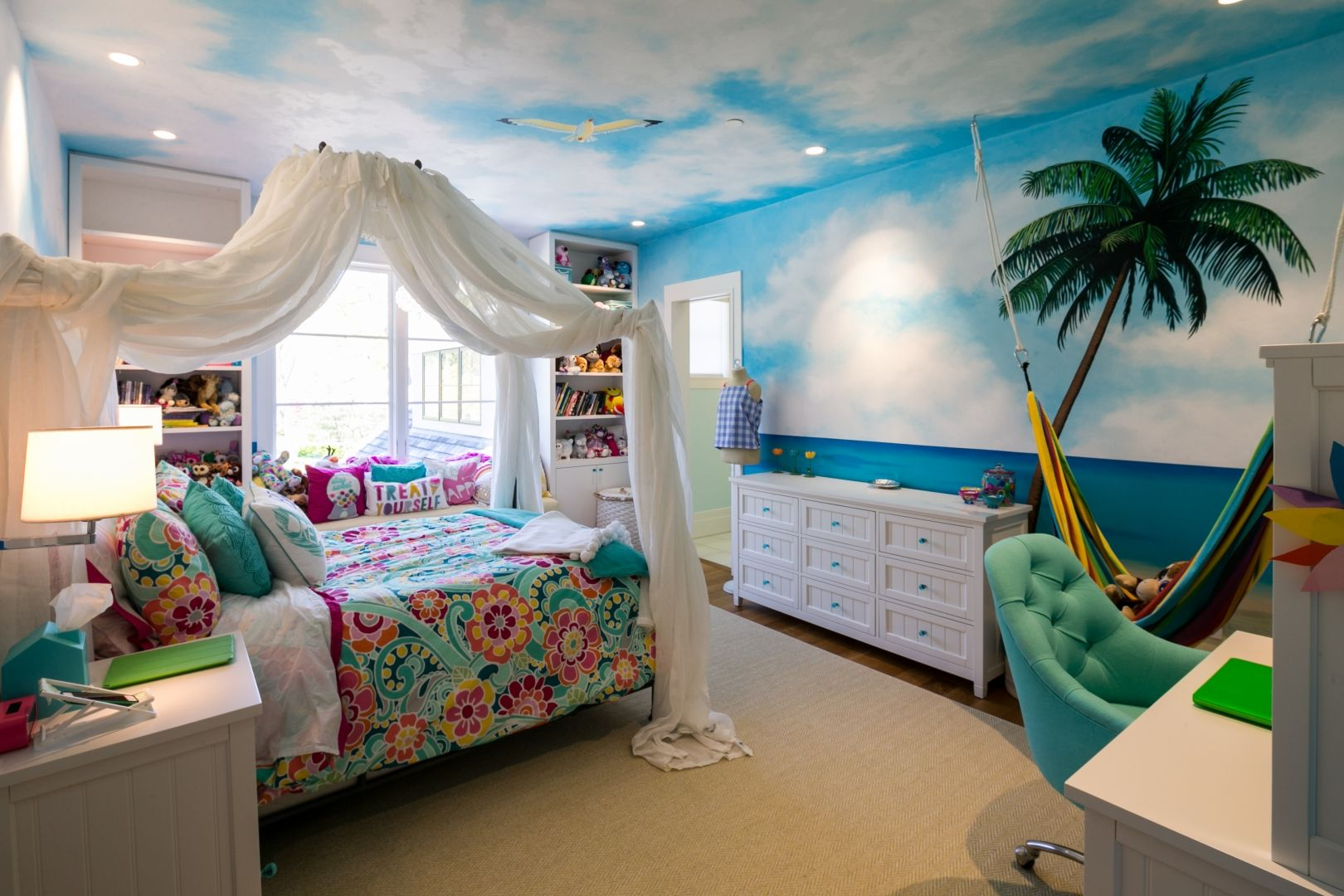 Custom Home Spotlight Edgemoor Tropical Bedrooms Kids Bedroom