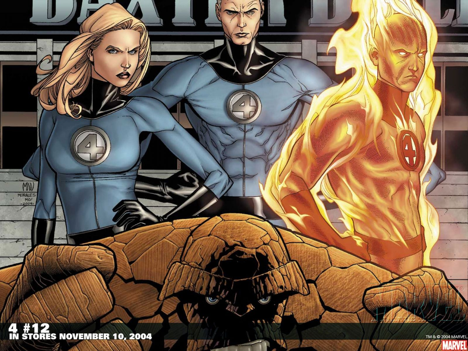 Fantastic Four Computer Wallpapers Desktop Backgrounds 1600x1200 Id 98234 Fantastic Four Marvel Mister Fantastic Fantastic Four