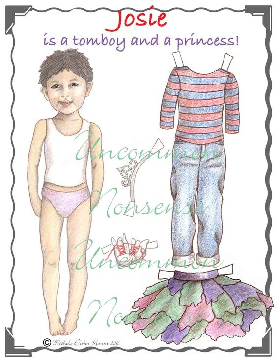 Josie A Tomboy and a Princess Artist Paper by UncommonNonsense, $8.00