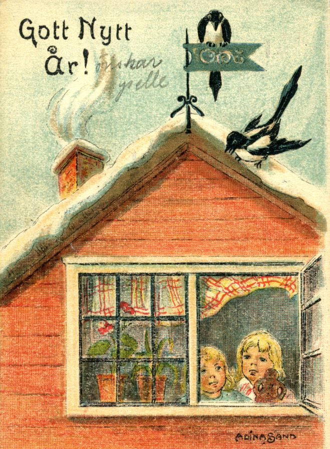 Godt nytår - Happy New Year! | Norwegian christmas ...