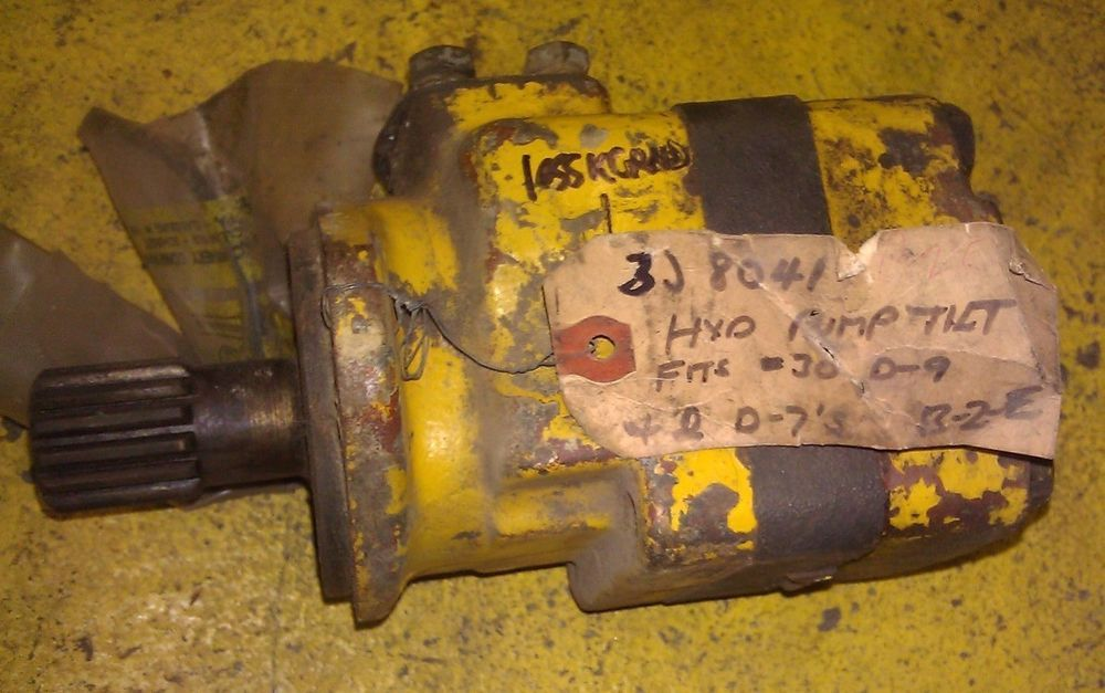 GENUINE CATERPILLAR HYDRAULIC PUMP 3J8041 / 3J-8041