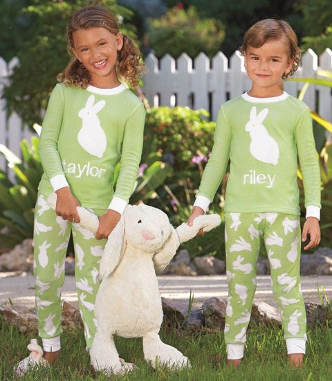 Matching Personalized Easter PJs | holiday // easter | Pinterest ...