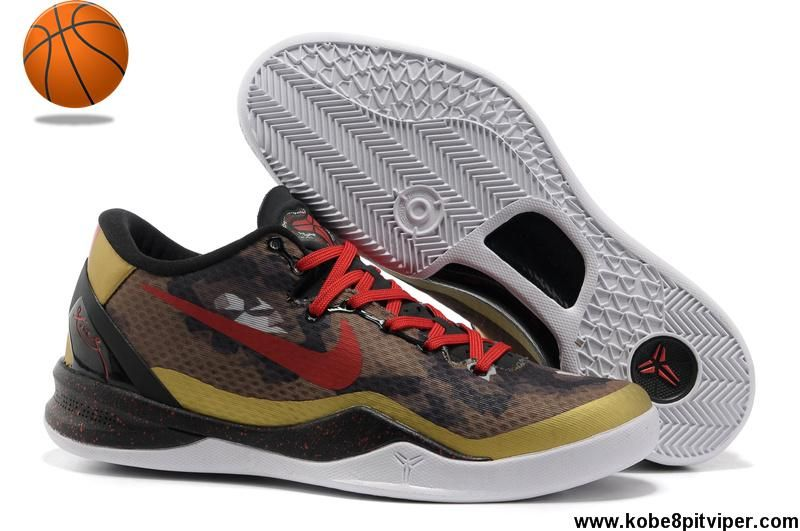 on sale 1724d 783f2 New 555035 005 Year Of The Snake Nike Kobe 8 System Mamba Army Camo Shoes  store