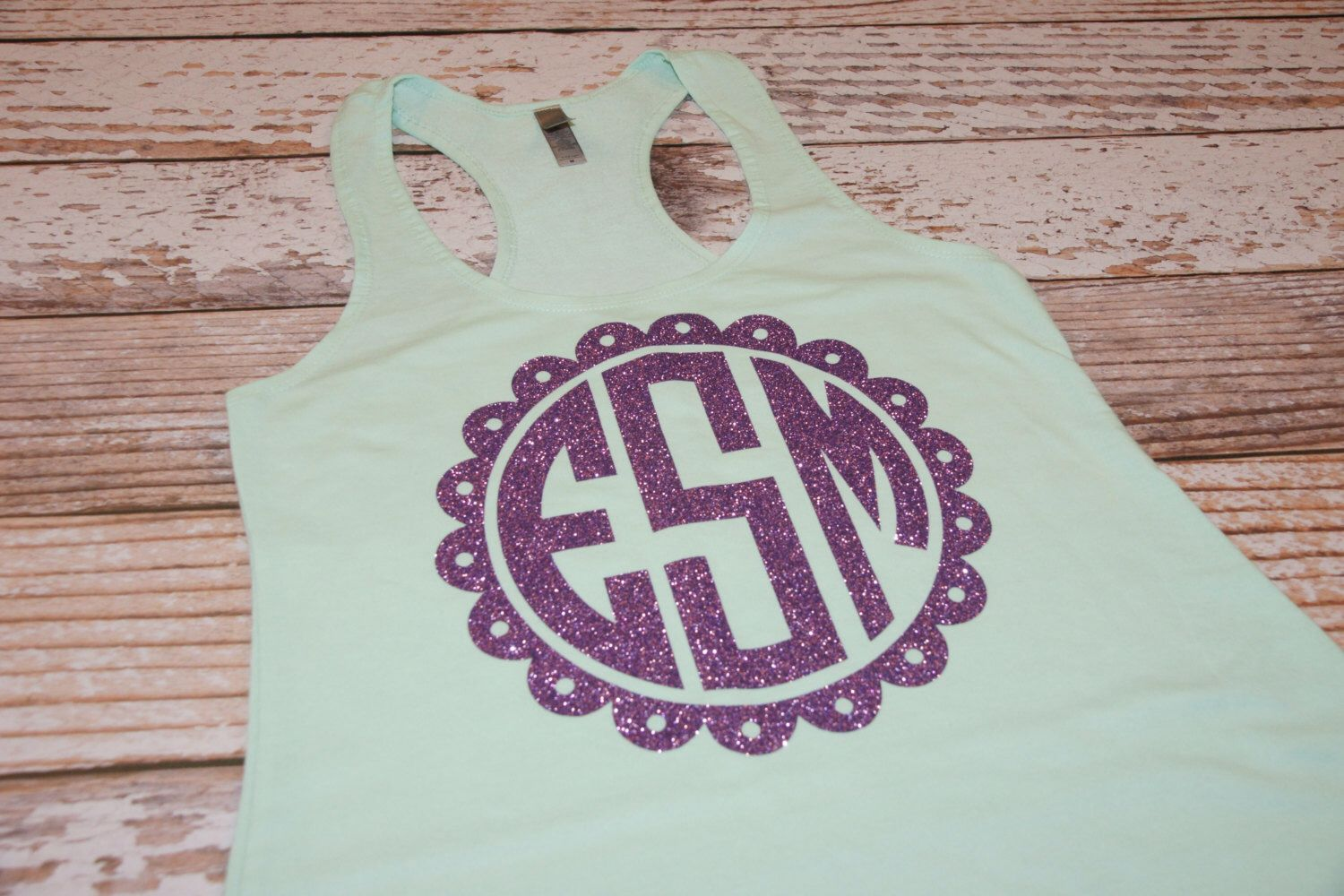 Monogram Tank Top. Preppy Monogram Shirt. Monogram Tank. Racer Back Tank Top. Bridesmaid Shirt. Bridesmaid Gift. Personalized Shirt by owltheshirtsyouneed on Etsy https://www.etsy.com/listing/231972654/monogram-tank-top-preppy-monogram-shirt