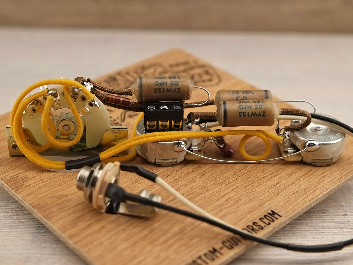 Esquire L U00f6tfrei Prewired Kit Telecaster