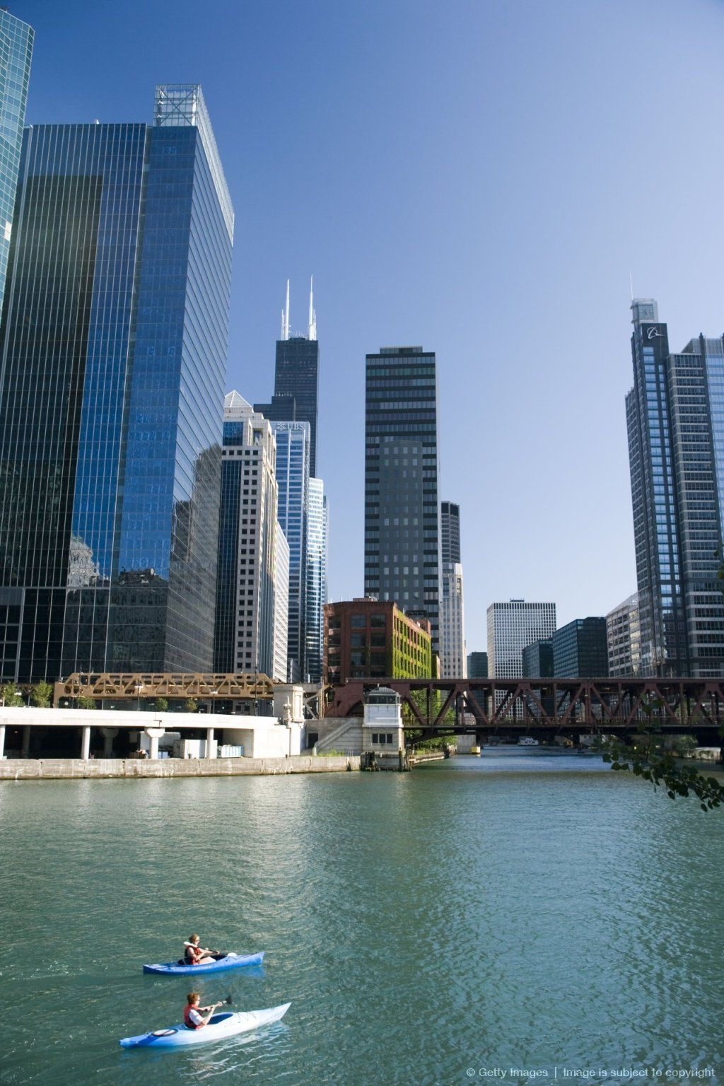 Chicago River Loop Illinois Need To Work Up To This