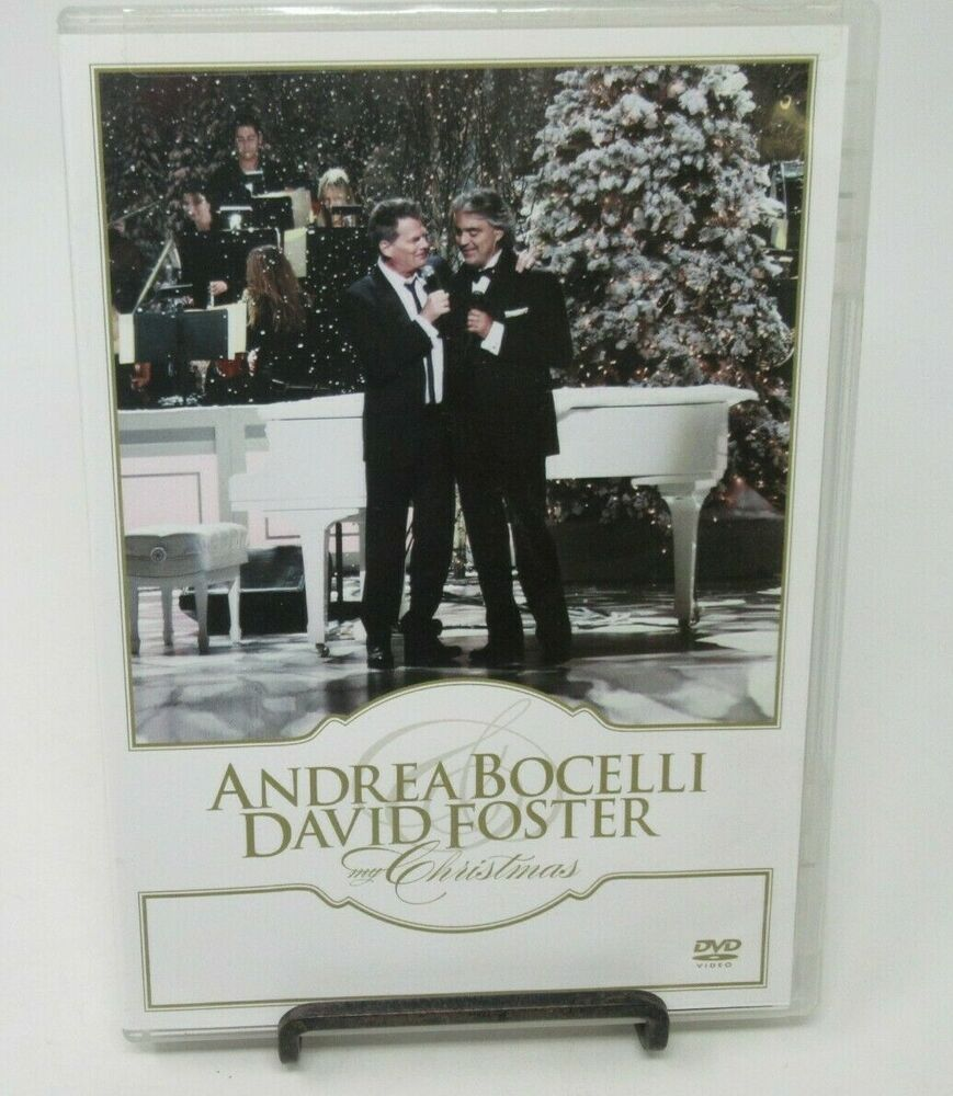 Details About Andrea Bocelli David Foster My Christmas Dvd Live At Kodak Theatre In L A In 2020 Kodak Theater Christmas Dvd The Fosters