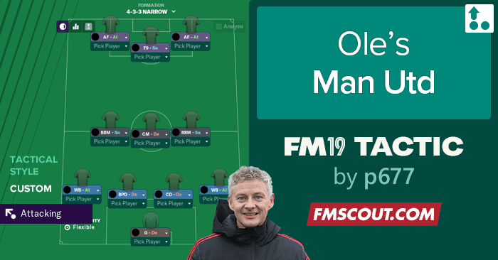 Ole S Man Utd Fm19 Tactic Fm Scout Football Manager 2019 Man Utd Team Guide Player Ratings In 2020 Manchester United Football Football Manager Manchester United Team