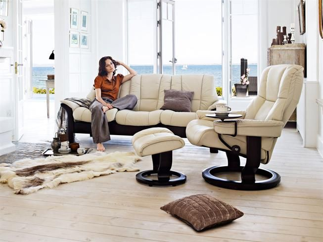 Achieve non stop comfort with a Stressless sofa every seat
