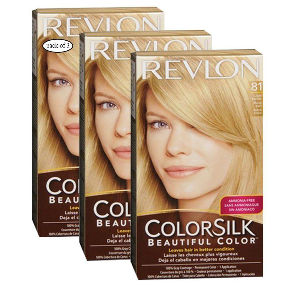 Revlon Hair Color Light Pack Of