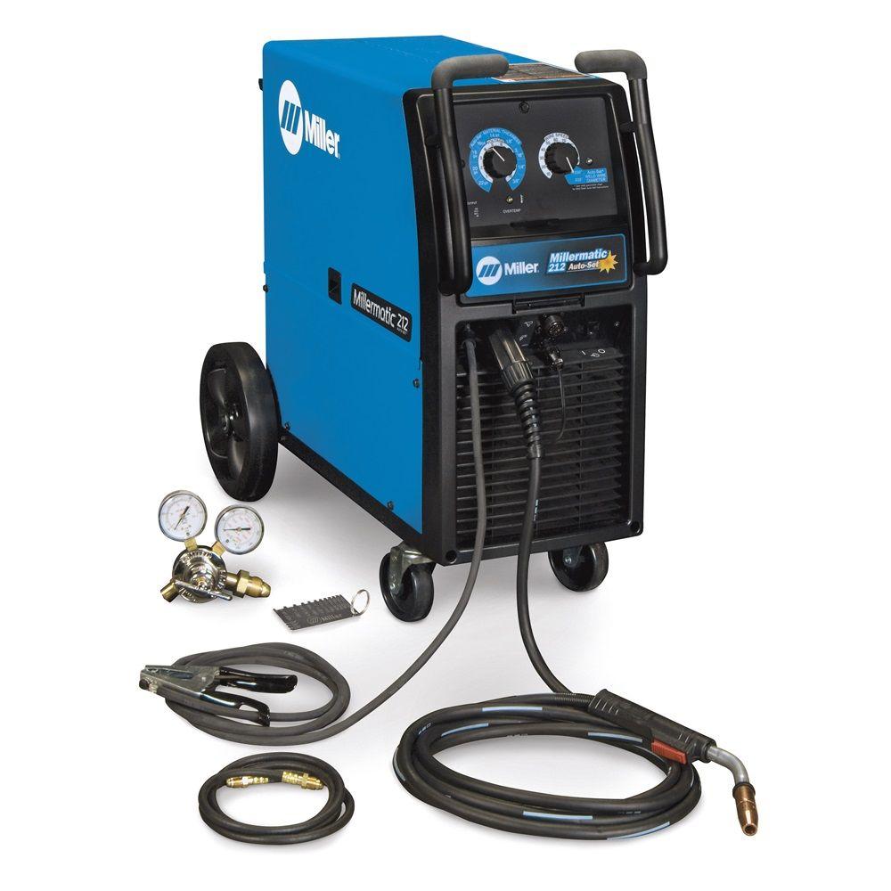 Millermatic 212 AutoSet Wire welder, Mig welder, Mig