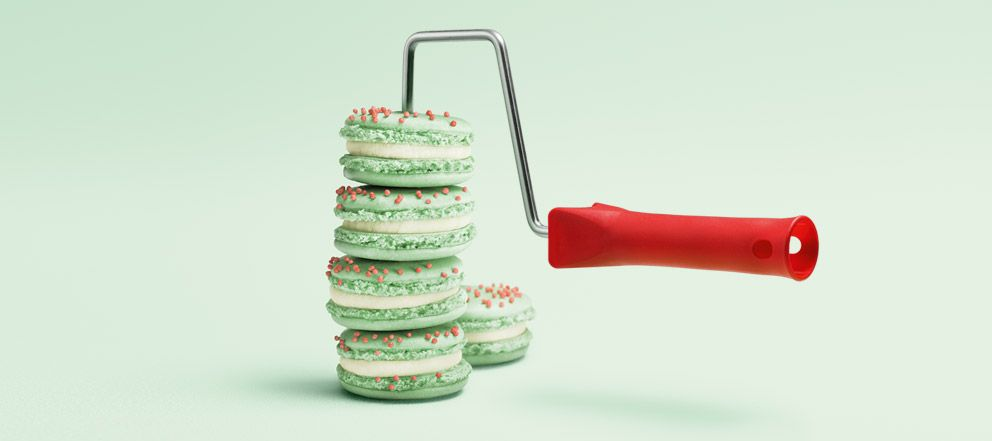 Trendfarbe Macaron \u2013 SCHÖNER WOHNEN-FARBE Schlafzimmer Pinterest