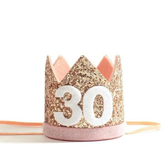 Rose Gold Party Hat