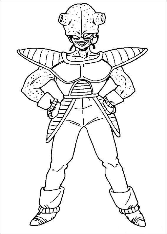 Dragon Ball Z Ausmalbilder. Malvorlagen Zeichnung druckbare nº 76 ...