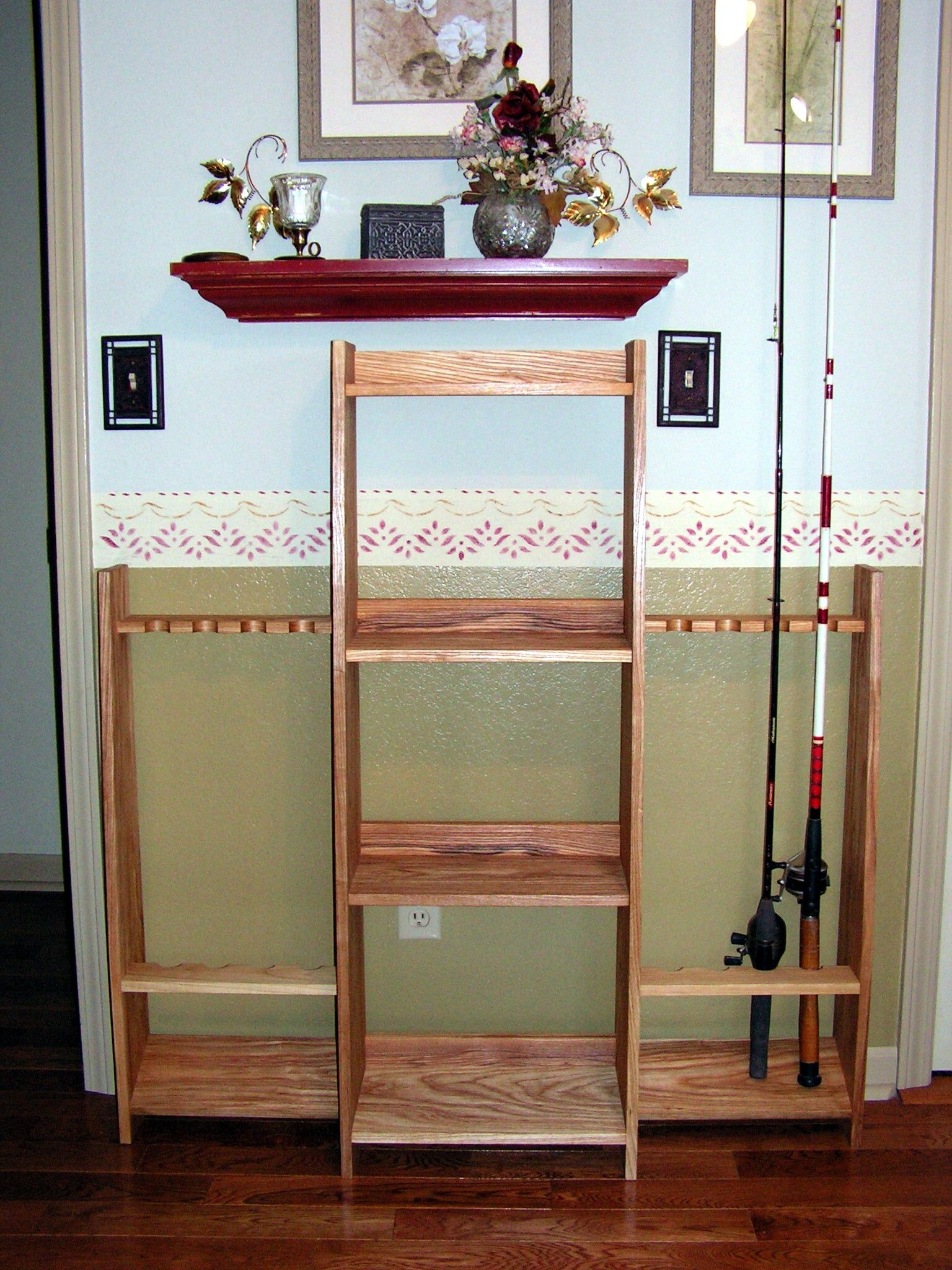Woodworking Plans Fishing Rod Rack Must See Rod Rack Fishing Rod Rack Fishing Rod Storage