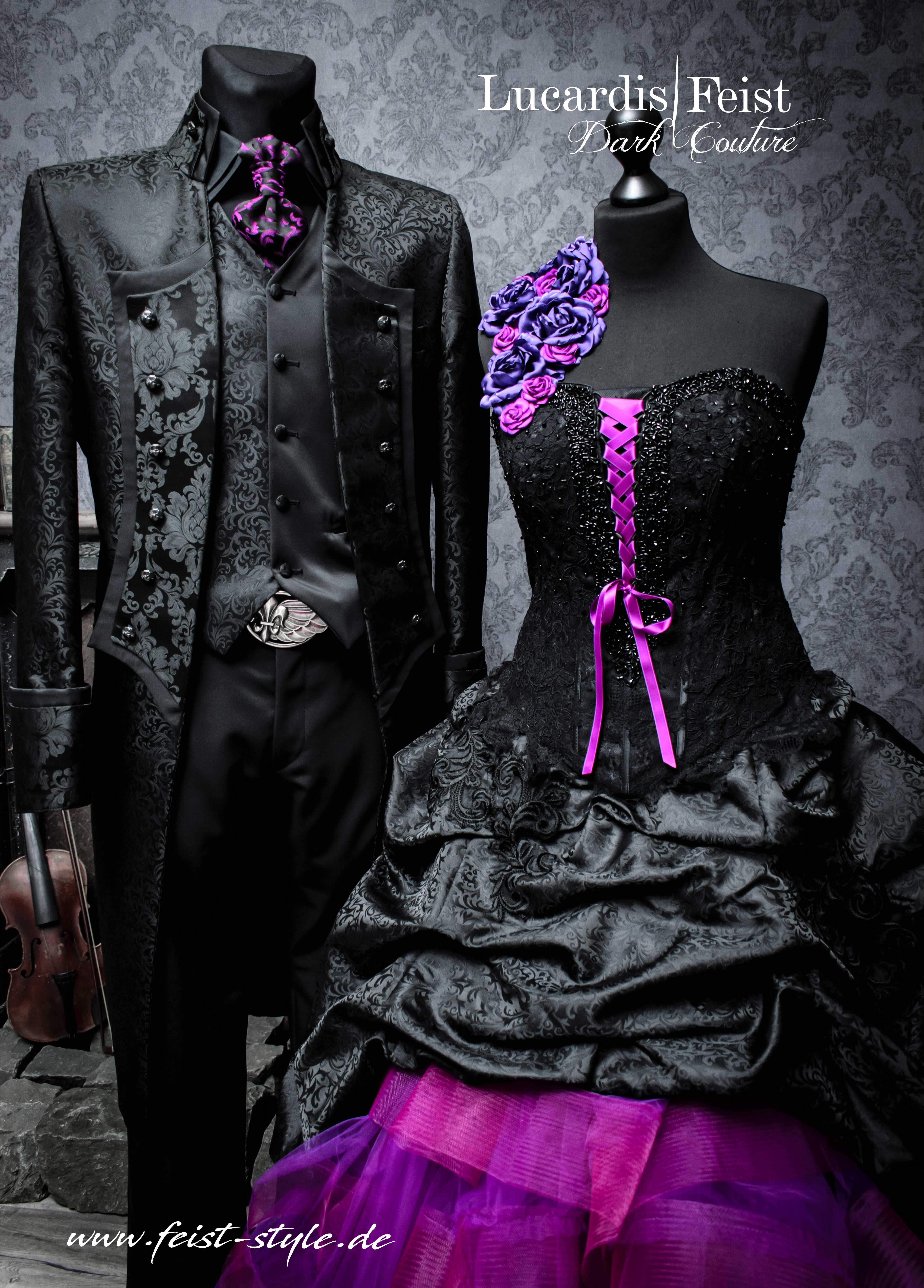 Designer Gothic Weddingfashion In 2021 Black Wedding Dresses Steampunk Wedding Dress Steampunk Wedding Gown [ 6765 x 4853 Pixel ]