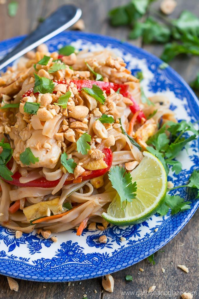 Chicken pad thai recipe easy food and glaze chicken pad thai pad thai recipesentree recipesasian food forumfinder Gallery