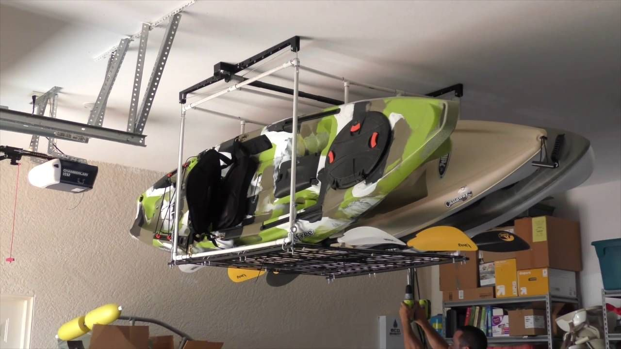 Pin by mikie flack on Beach house thoughts Kayak storage
