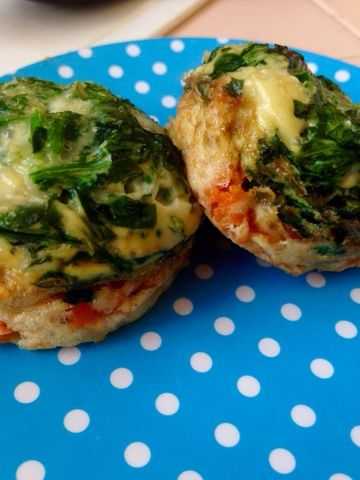 A Light in the Fridge: Diary of a Hungry Girl: Breakfast To-Go #breakfast #snack #protein #eggMuffin #sweetPotato #spinach #mealPrep