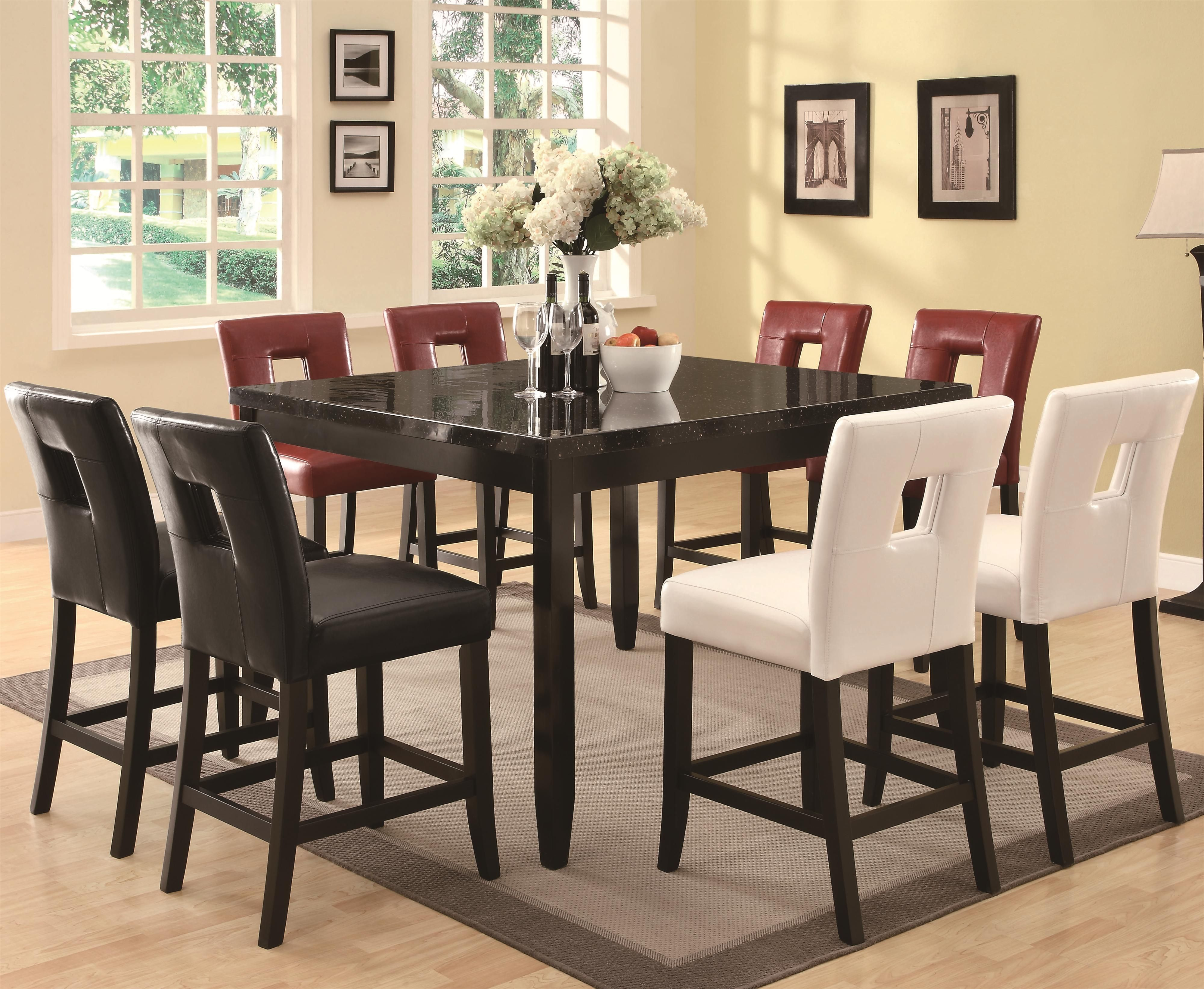 Newbridge 7 Piece Pub Tablecoaster  Dad's  Pinterest Awesome Counter Height Kitchen Tables Design Inspiration
