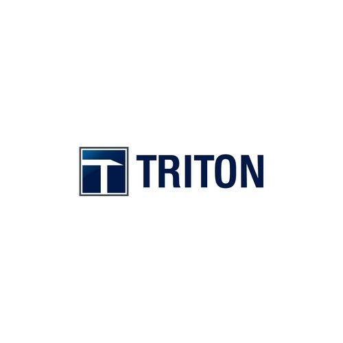 Triton - Simple and Modern logo for start-up construction company