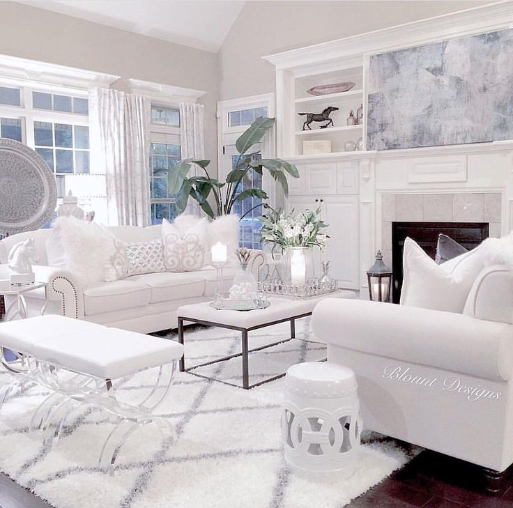 Create A White Living Room Stylish Furnishing Examples And Tips White Furniture Living Room White Living Room Decor