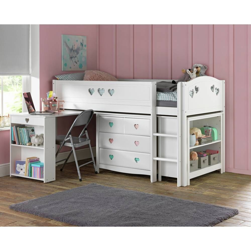 Buy Argos Home Mia White Ultimate Mid Sleeper & Kids