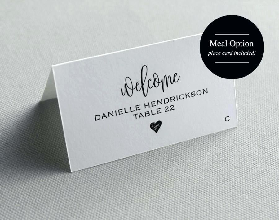 Wedding Place Cards Template Free Elegant Place Card Template Printable Wedding Cards Seati Place Card Template Wedding Place Card Templates Wedding Name Cards