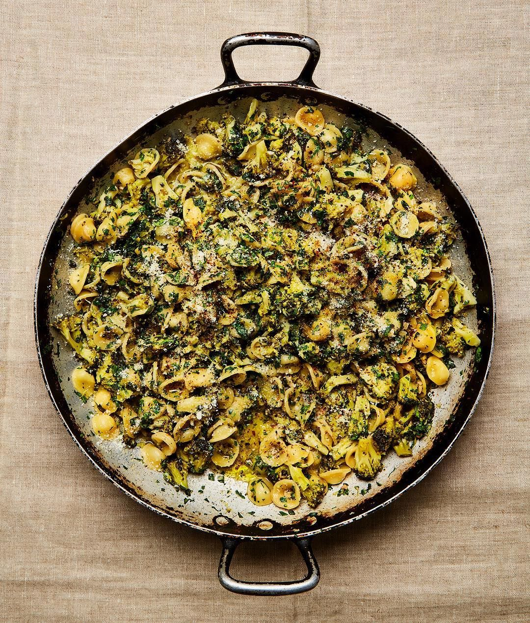 Yotam Ottolenghi On Instagram Orecchiette With Broccoli And Rocket The Pasta Actually Cooks With The Broccoli Recipes Ottolenghi Recipes Yotam Ottolenghi