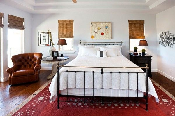 30 Bedrooms That Wow With Mismatched Nightstands Bedroom Design Eclectic Bedroom Design Eclectic Bedroom